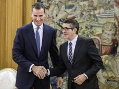 Patxi López comunicará la fecha del debate de investidura la próxima semana
