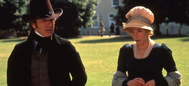 Alan Rickman and Emma Thompson
