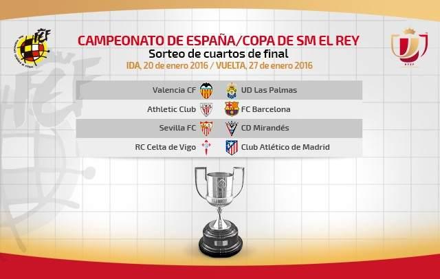 Cuartos Copa Del Rey | Copa Del Rey Athletic Barca Una Final Que Se Jugara En Cuartos