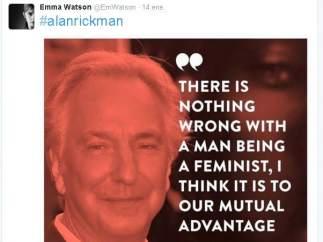 Tuit sobre Alan Rickman