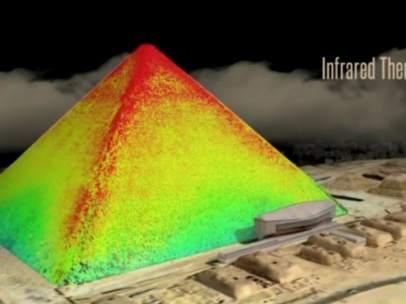 Temperaturas en la pirámide de Keops