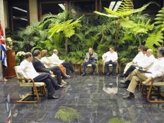 Reuniones por las FARC