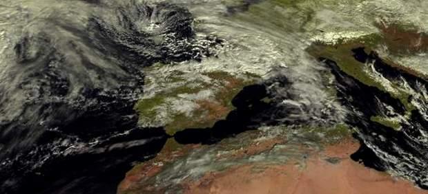 intervalos débiles temperaturas oeste viento nuboso cambios nubosos