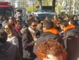 Bomberos detenidos en Lesbos