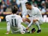Bale, lesionado, y Cristiano