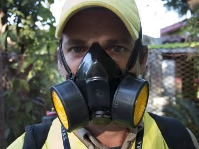 Fumigación contra el virus zyka