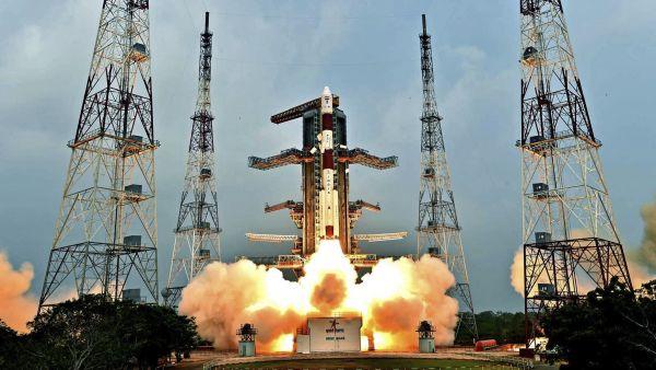 Lanzamiento de un satélite indio