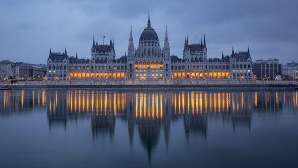 Parlamento húngaro, en Budapest