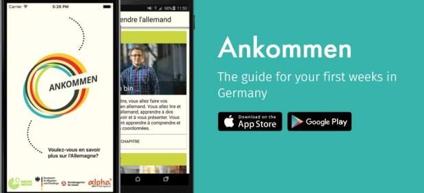 'Ankommen', app para los refugiados en Alemania