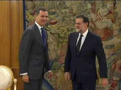 Rey y Rajoy