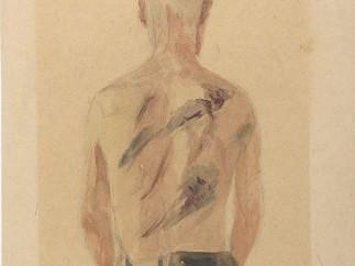 Jacob Lipschitz - Der Geschlagene (Mein Bruder Gedalyahu) Beaten (My Brother Gedalyahu), 1941–1944