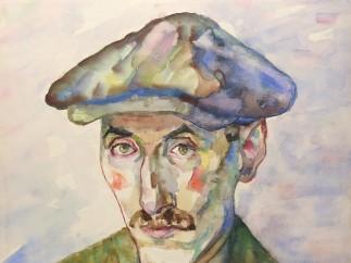 Josef Kowner - Selbstporträt / Self-Portrait, 1941