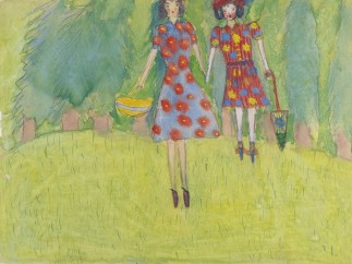 Nelly Toll - Mädchen im Feld / Girls in the Field, 1943