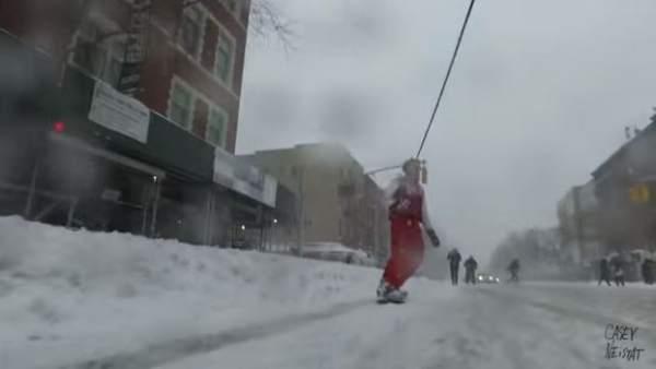 Snowboard en Nueva York
