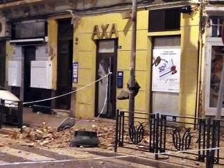 Inmueble afectado por el terremoto