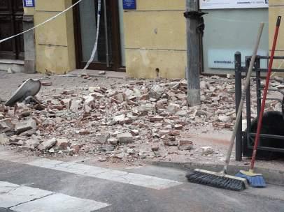 Daños terremoto Melilla