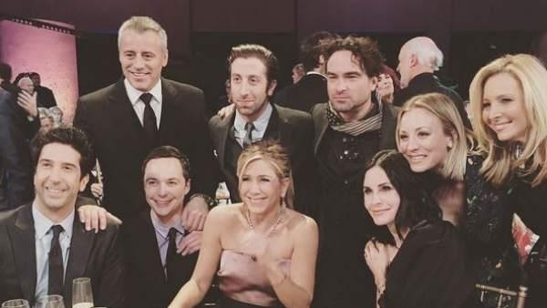 Reunión de los actores de 'Friends'