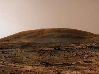 Late afternoon on Mars