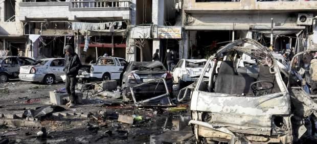 Atentado en Homs, Siria