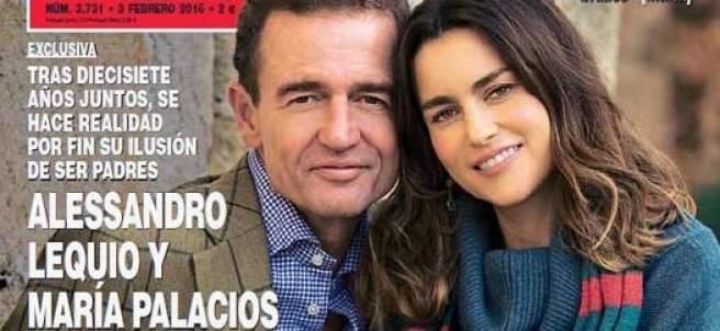 Alessandro Lequio será padre por tercera vez a los 55 años