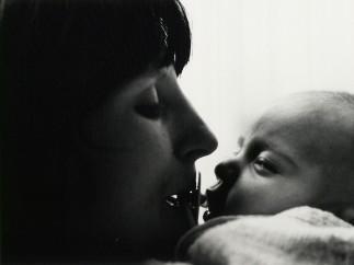 Janet Mendelsohn, Kathleen and her newborn son L (c.1968)