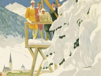 'Davos', 1918