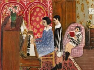 Henri Matisse - LA LEÇON DE PIANO, 1923