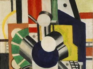 Fernand Léger - ÉLÉMENTS MÉCANIQUES, 1919