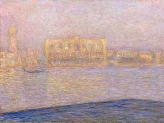 Claude Monet - LE PALAIS DUCAL VU DE SAINT-GEORGES MAJEUR, 1908
