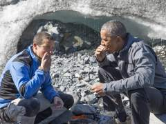 Bear Grylls y Barack Obama