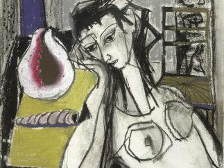 'Frau mit Muschel', 1951