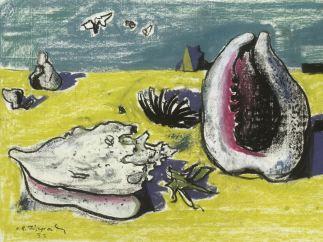 'Muscheln am Strand', 1953