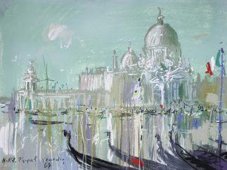 'Venedig, Santa Maria della Salute', 1967