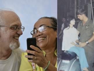 Reencuentro tras 50 años separados