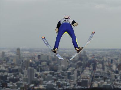 Volando sobre dos esquís