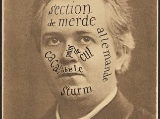 Raoul Hausmann - Section de merde... allemande, 1921