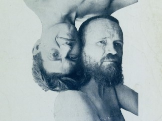 John Heartfield (likely photographer) - Double portrait of Johannes Baader and Raoul Hausmann, 1919