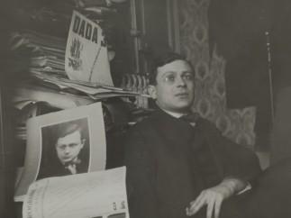 Unknown photographer - Portrait of Tristan Tzara, ca 1920