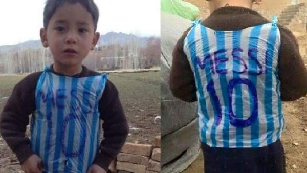 Murtaza, fan de Messi
