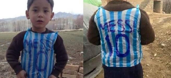 Murtaza, fan de Messi