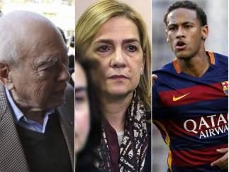 Pujol, la infanta y Neymar