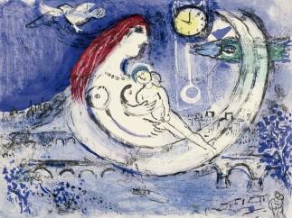 Paisaje azul, 1958