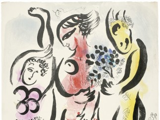 Los tres acróbatas, 1957