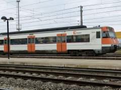 Interrumpida la circulación de trenes en Barcelona