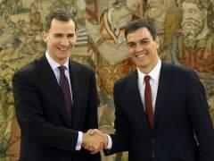 El rey Felipe VI recibirá a Pedro Sánchez el martes