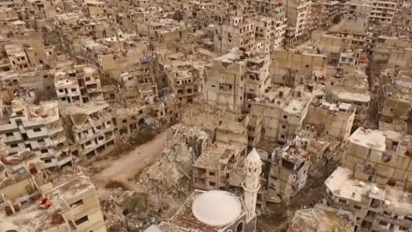 Vista aérea de Homs