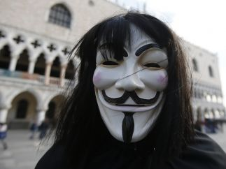 Máscara de Anonymous