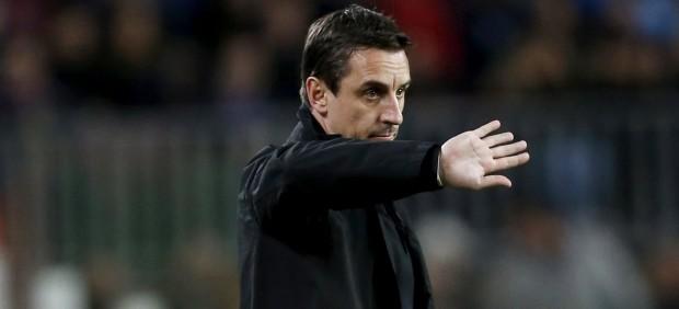 El Valencia destituye a Gary Neville y le sustituye Ayestarán
