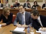 Rajoy se reúne en el Congreso con los diputados del PP