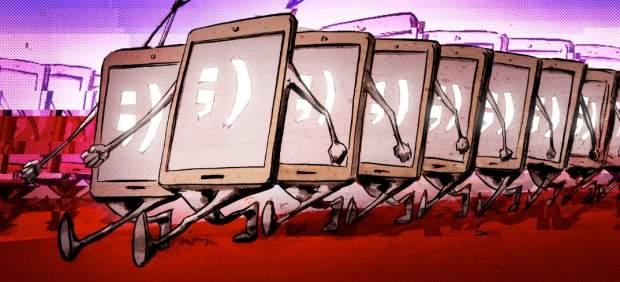 La publicidad en los dispositivos móviles podría superar a la de prensa escrita este año